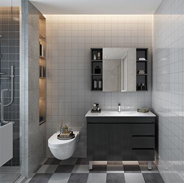 廠家直銷 零售 繁復風浴室櫃落地洗手間洗漱台洗手盆洗臉櫃YSG002