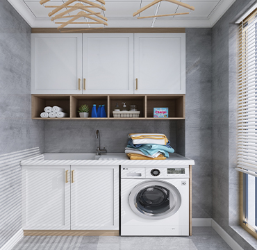 廠家批發陽臺柜 現代簡約洗衣機柜YSG011