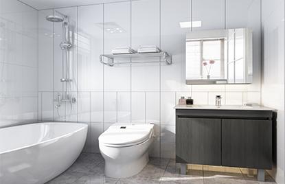 浴室柜什么材质比较好?壁挂柜和落地柜哪种更防潮?