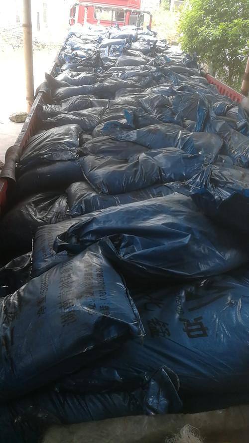 安徽池州 冶金行业用二氧化锰 认准青冲锰业 32吨二氧化锰已发出
