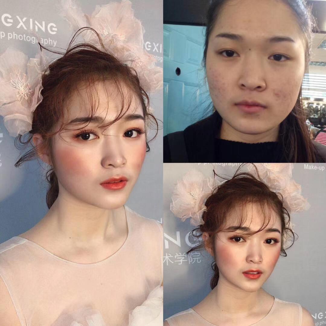 怀化化妆培训学校干货分享_夏天该如何正确的补妆!