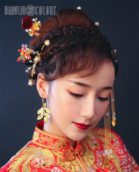 杨柳学校发型作品2