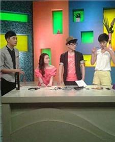 杨柳色彩佳伟老师录制湖南娱乐频道节目《生活甜甜圈》