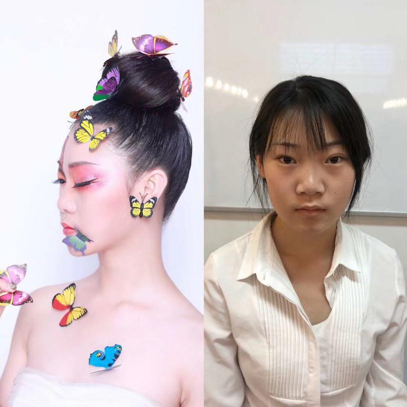 怀化化妆培训学校_减龄妆我们应该怎么画?