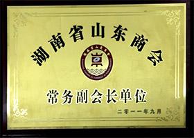 湖南省山東商務常務副會長單位