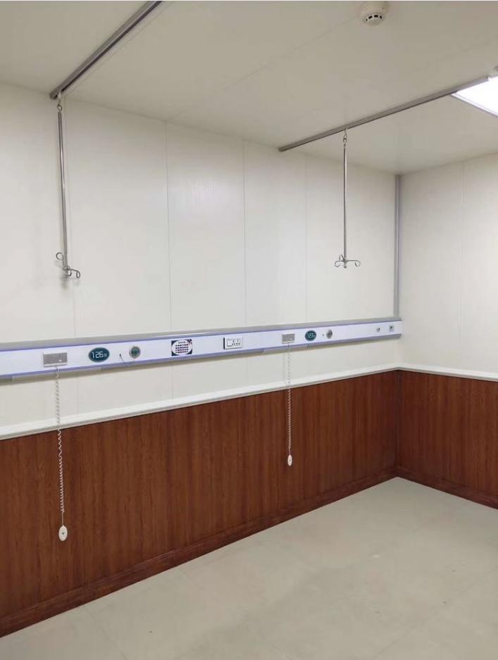 医院病房护墙板装修效果图