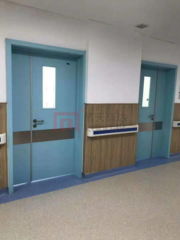 医用门安装案例