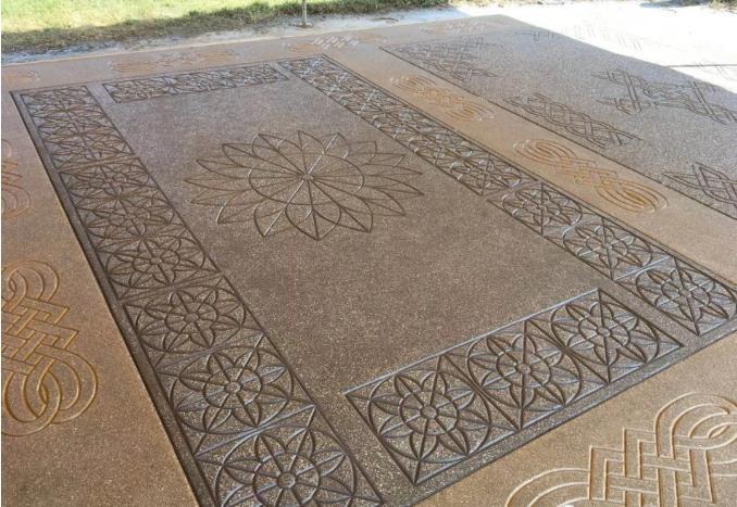 装饰混凝土地坪
