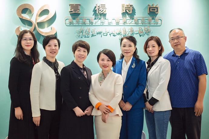 长沙化妆学校夏杨时尚教育喜迎开福区政协来校指导工作