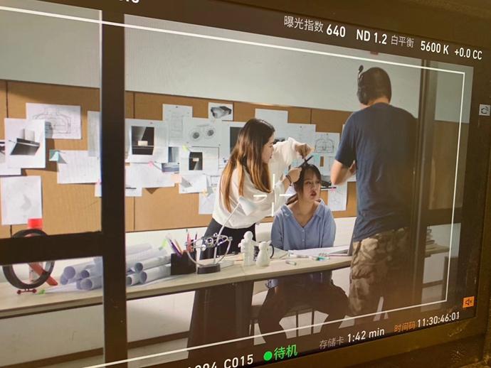 长沙化妆学校-夏杨时尚教育学员实习分享