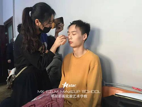 长沙化妆学校助力周杰伦演唱会