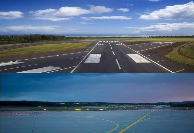 飞机场跑道用的是什么地坪?