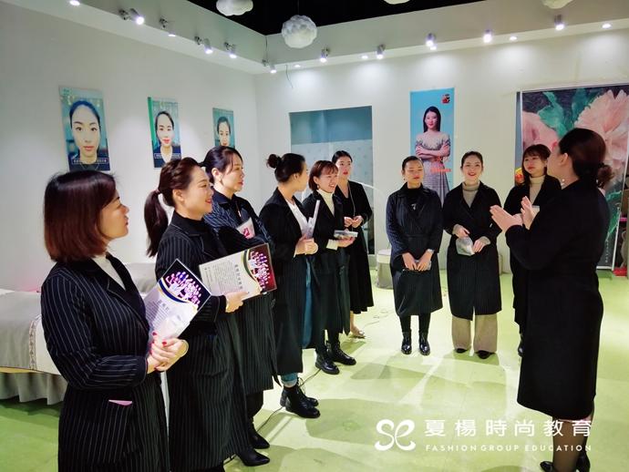 夏杨时尚教育纹绣技术巡演圆满成功