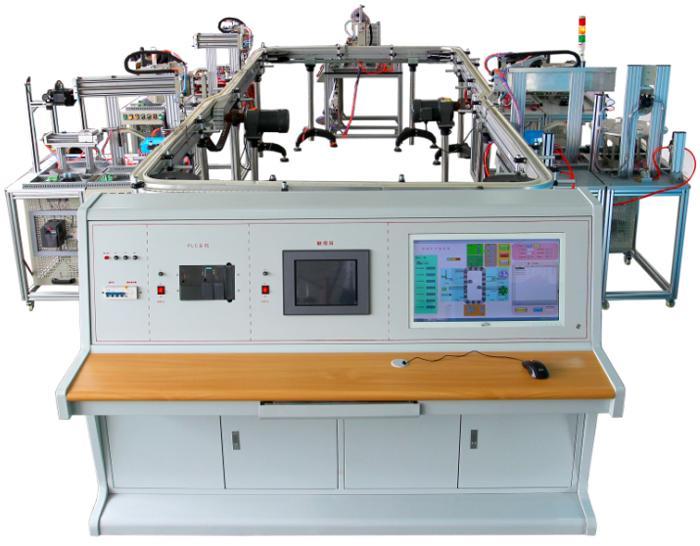 模块式柔性自动环形生产线及工厂智能机器人应用实验系统