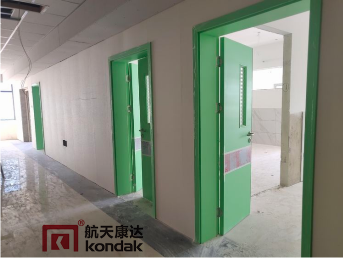 医院用门生产厂家打造的清新绿色风
