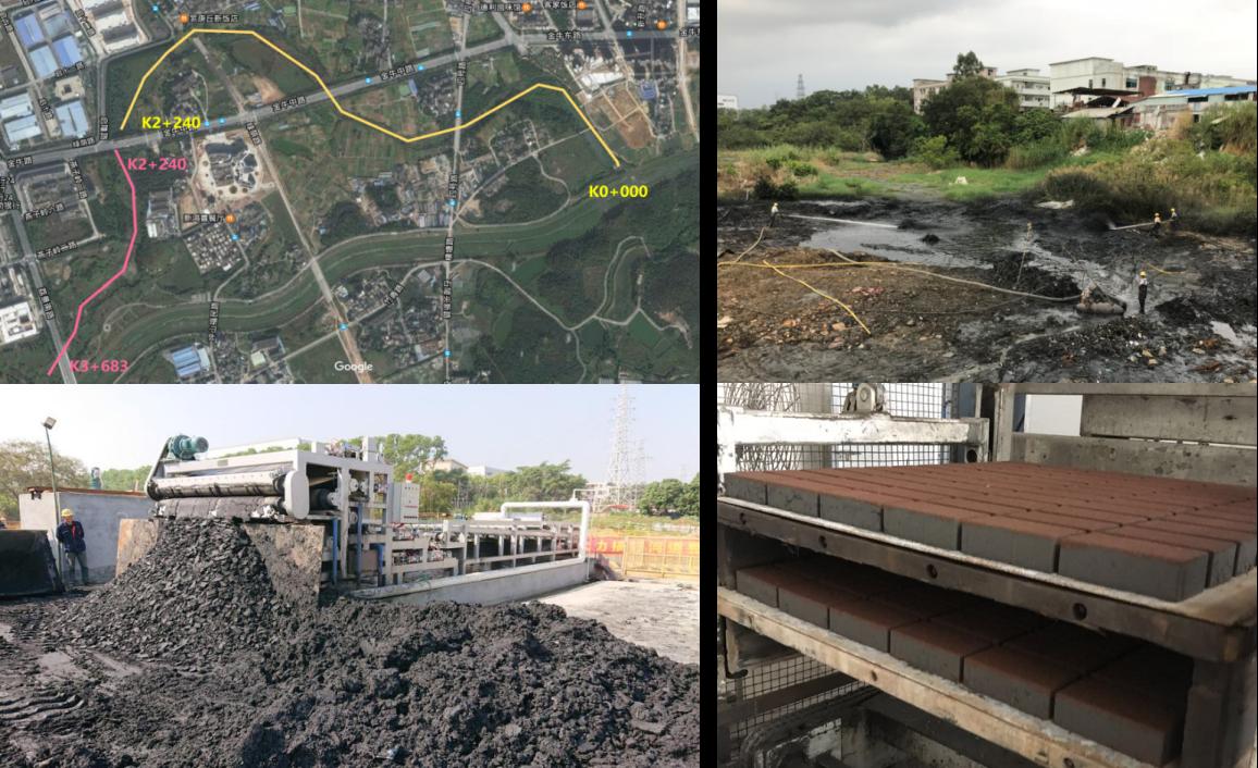 坪山河老河道清淤工程