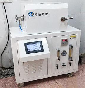 1200℃真空微波管式炉