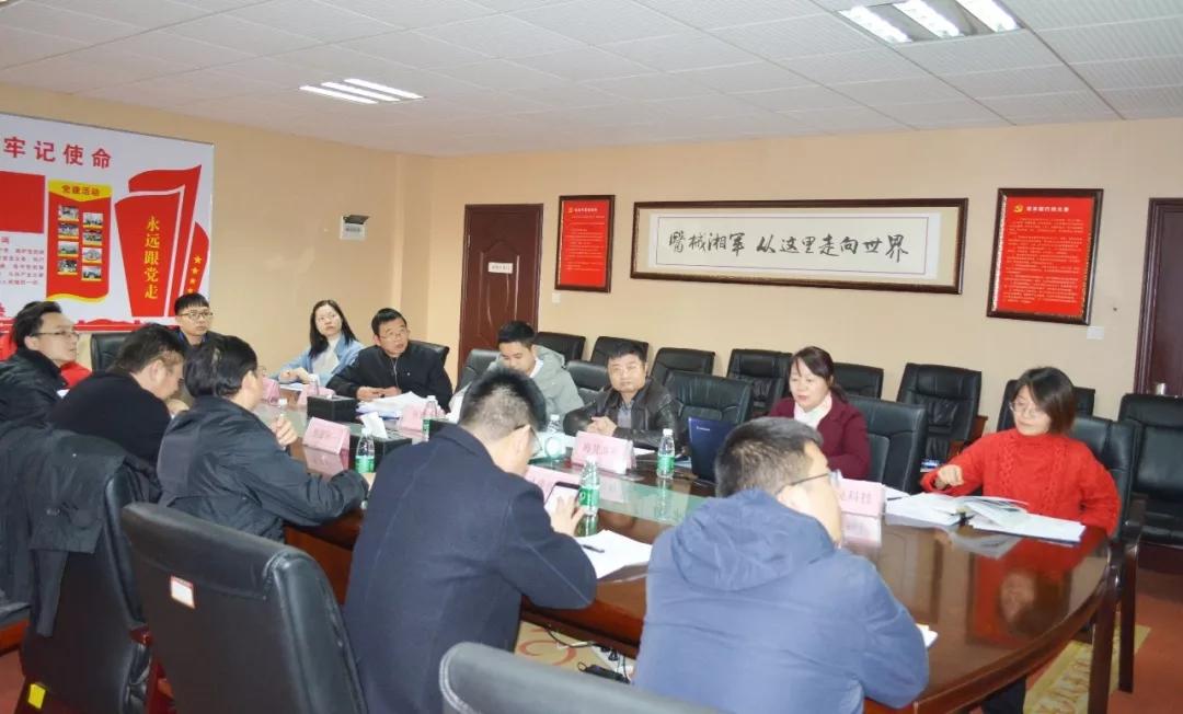 湖南麓谷國際醫械園黨委召開2019年黨建工作考評會