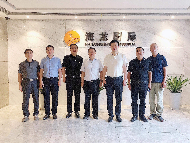 海龙动态 ▏中国移动长沙分公司总经理一行莅临海龙国际考察