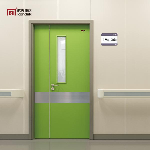 医院专用门的制作材质有那些?价格会比普通室内门贵吗?