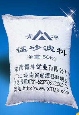 锰砂滤料除铁工作原理