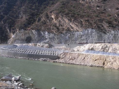 大洲一级水电站项目