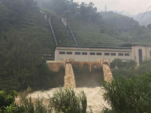 东源大围山电站项目