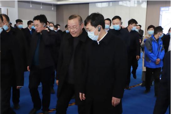 航天康达湘阴园区视察指导