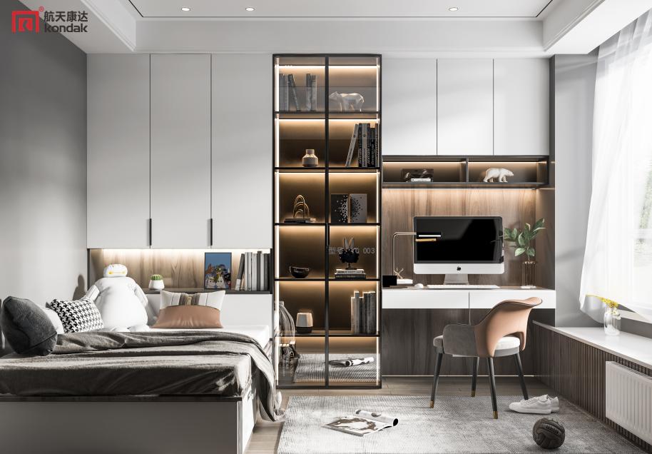 北欧衣柜 简约现代经济型 有效空间利用 YG004