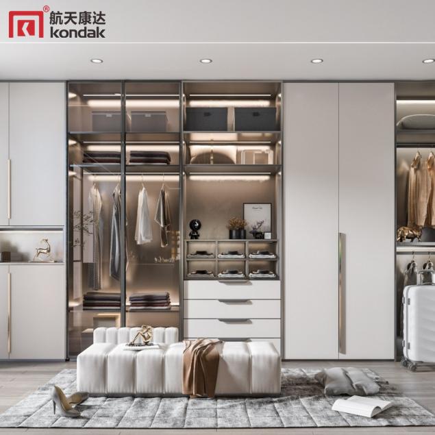 新中式整体衣柜CG004
